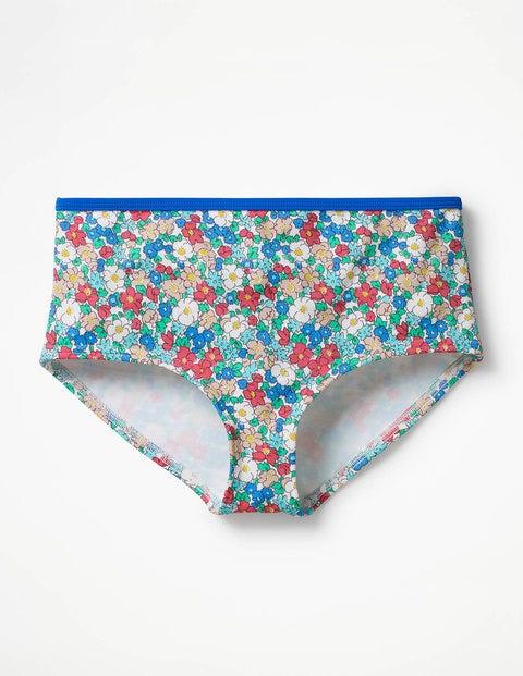 Swim Shorts Multi Girls Boden, Blue