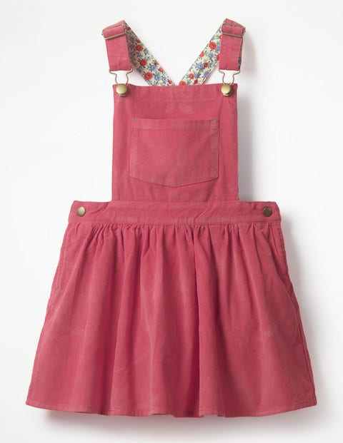 Overall Pinafore Dress - Rose Blossom Pink