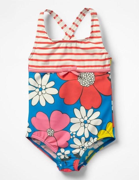 Hotchpotch Swimsuit - Blue Flower Power