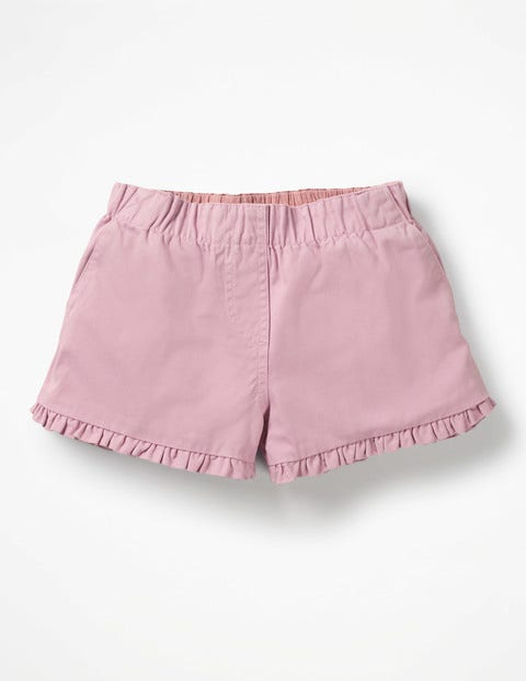 Frill Detail Shorts - Cypher Purple