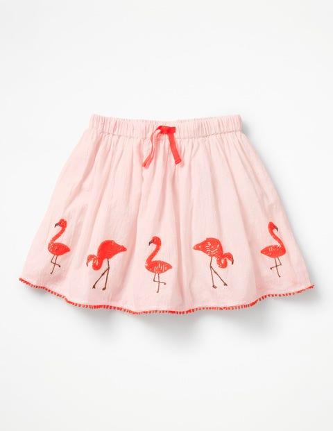 Vintage Style Children's Clothing: Girls, Boys, Baby, Toddler Flamingo Sequin Skirt Pink Girls Boden Pink £40.00 AT vintagedancer.com