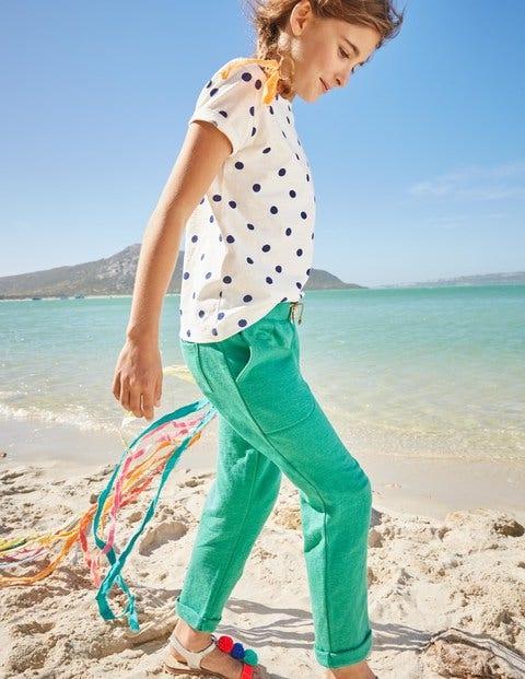 Slim Sweatpants - Jungle Green Marl