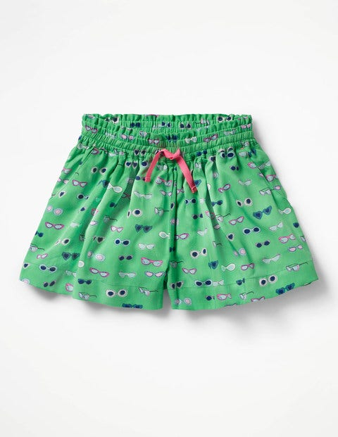 Pretty Woven Culottes - Peppermint Green Sunglasses