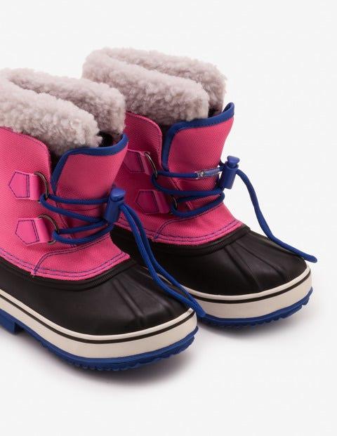 Snow Boots - Pop Pink