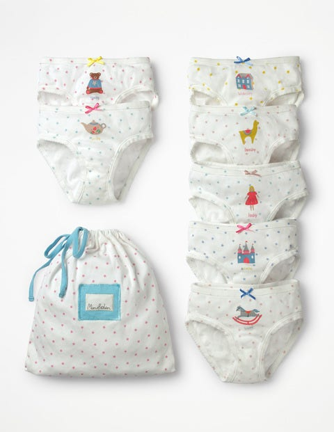 7 Pack Pants - Toy Box