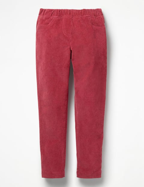 Cord Leggings - Bramble Red