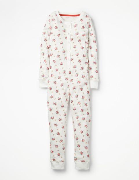 mini - Bequemer einteiliger Schlafanzug Multi Mädchen Boden, Multi