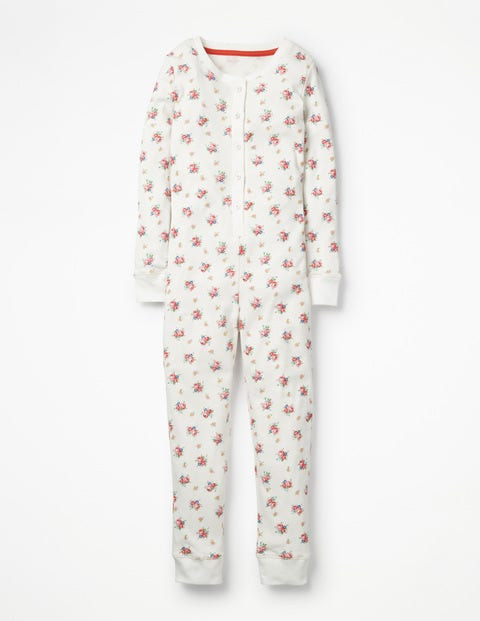 Cosy All-In-One Pyjamas - Multi Vintage Sprig