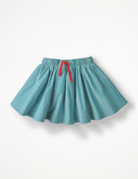 Simple Colourful Skirt - Delphinium Blue