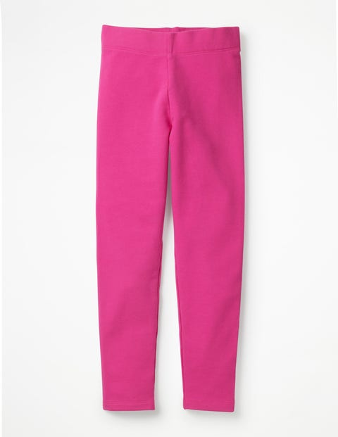 Plain Cosy Leggings - Tickled Pink