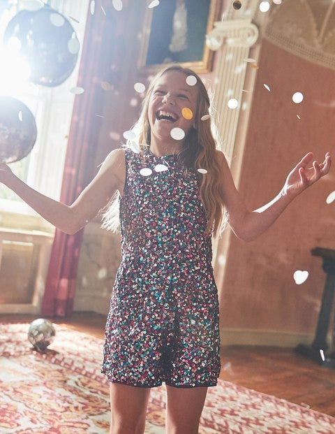 Sequin Playsuit G0836 Playsuits At Boden