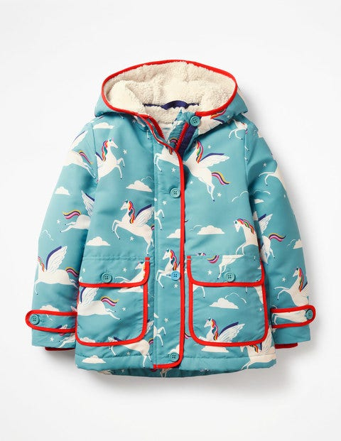 ac8175093136 Sherpa-Lined Anorak G0628 Coats at Boden