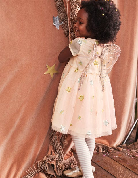 ccb11da13e2 Sequin Star Tulle Dress G0828 Special Occasion Dresses at Boden