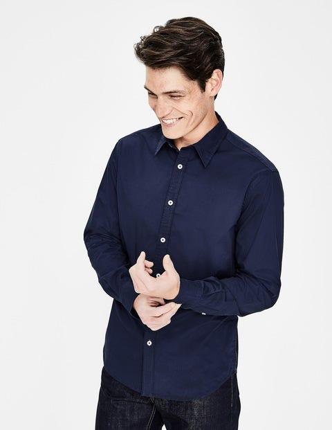 Slim Fit Poplin Shirt