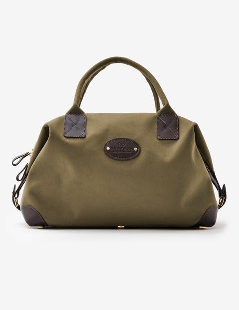 Mittelgroße Klassische Reisetasche Von Chapman - Dunkles Olivgrün