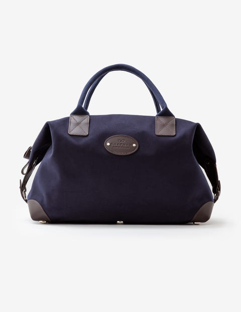 Mittelgroße Klassische Reisetasche Von Chapman - Navy