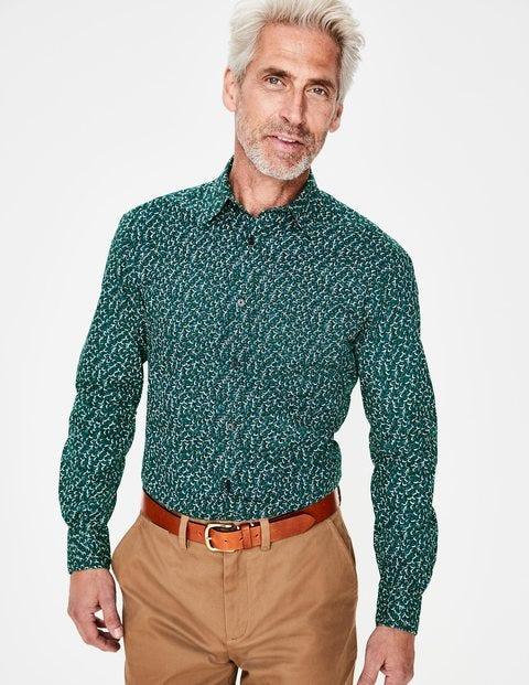 Printed Twill Shirt - Richmond Green Floral