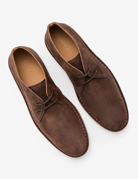 cd1be84dcdc Desert Boots - Dark Brown Suede
