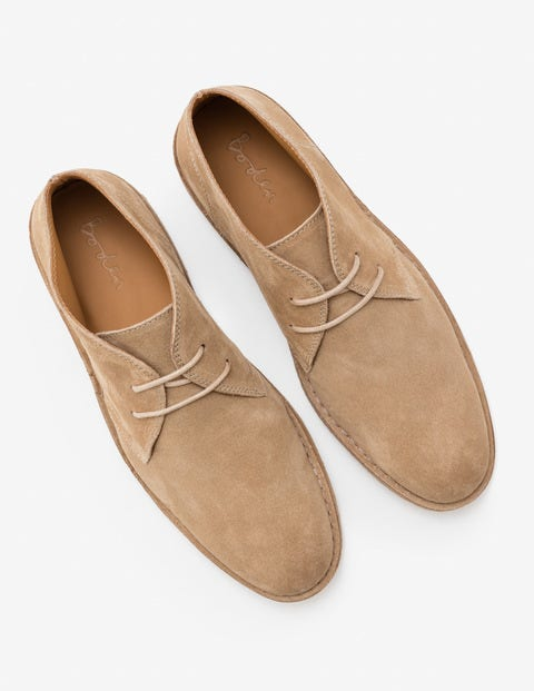 Desert Boots - Stone Suede