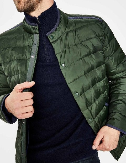 Highgate Quilted Jacket M0002 Jackets At Boden