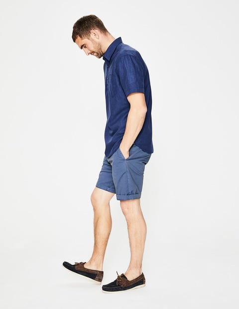 Chino Shorts - Stone Blue
