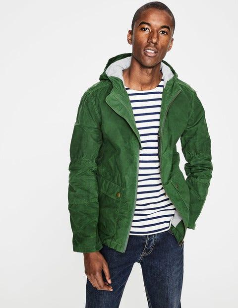 Highbury Waxed Jacket - Topiary