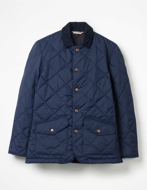 Quilted Jacket M0191 Jackets At Boden