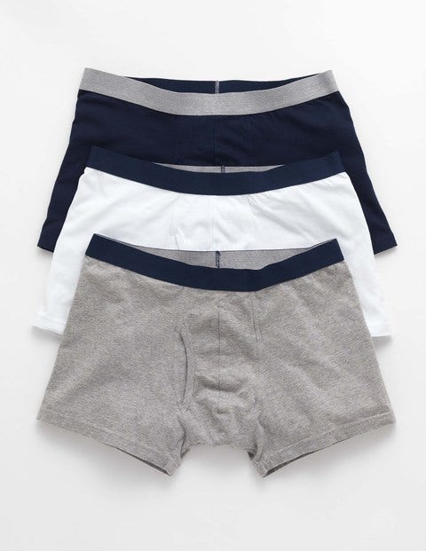 3 Pack Jersey Boxers Natural Men Boden, Natural