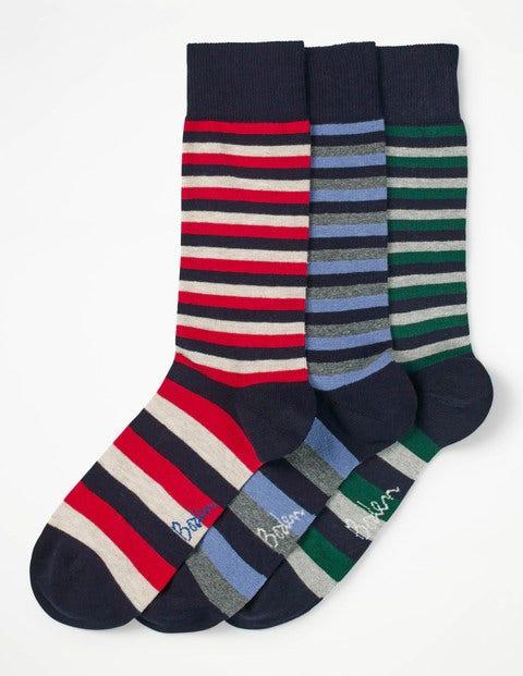 Favourite Socks - Navy Stripe Pack