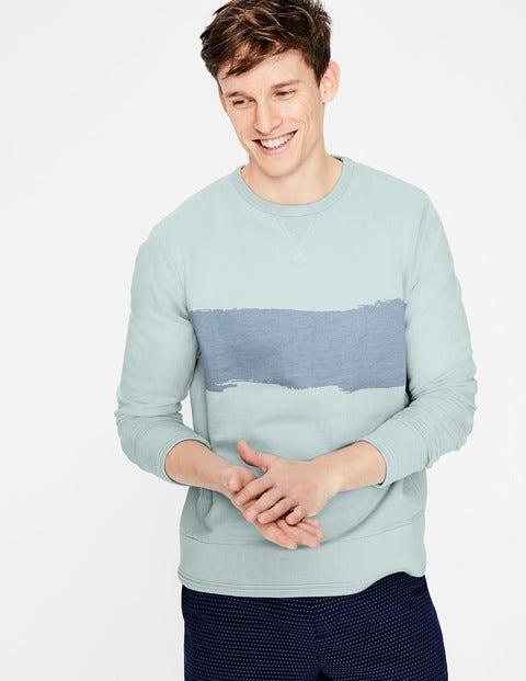 Conrad Sweatshirt - Blues Stripe