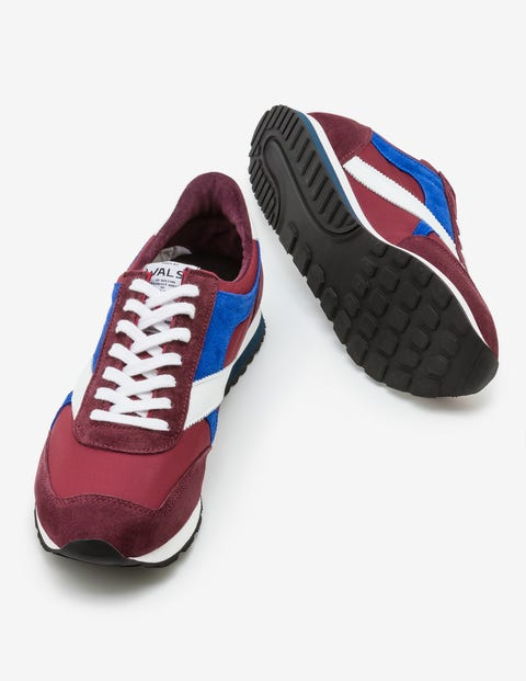 Walsh Tornado - Burgundy/Bright Blue