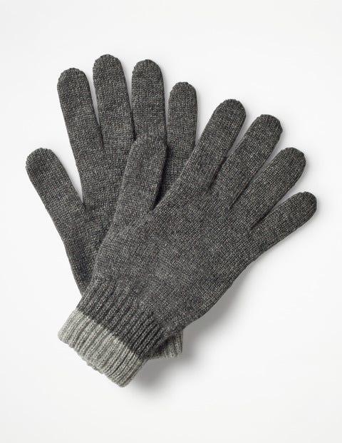 Cashmere Gloves - Grey Marl