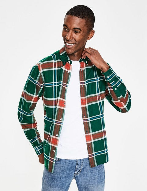 Hambleton Flannel Shirt - Scots Pine Check