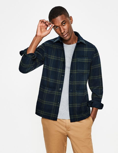 Alderley Overshirt - Richmond Green Check