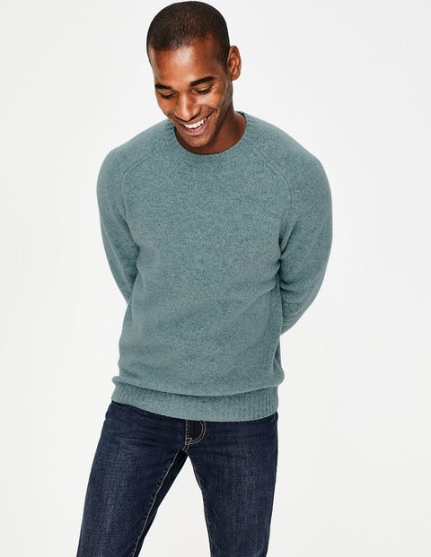 Aldgate Brushed Crew Neck - Topaz