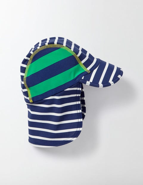 Image of Animal Swim Hat Navy Baby Boden, Multicouloured