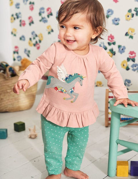 Magical Appliqué Play Set - Provence Dusty Pink Unicorn