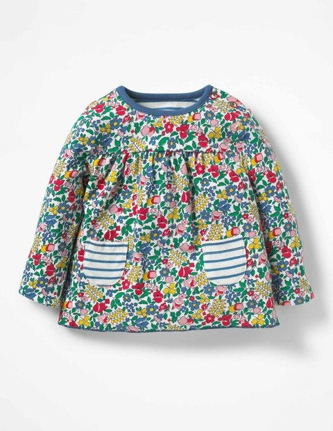Supersoft Reversible T-Shirt - Multi Flowerbed