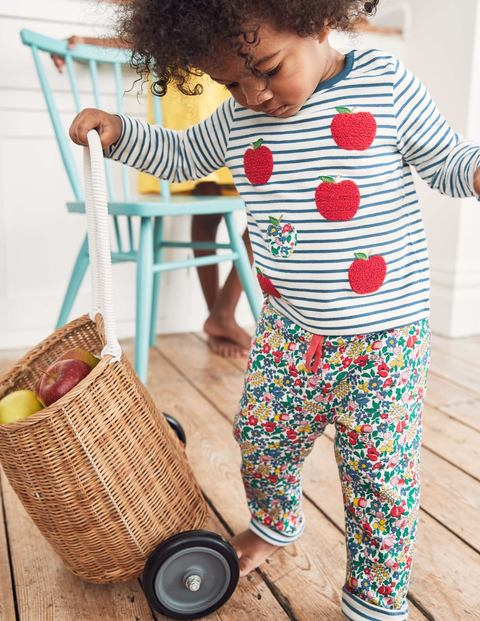 Supersoft Reversible Trousers - Multi Flowerbed