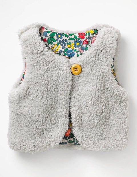 Boden Wendeweste aus Fleece Grey Baby Boden   