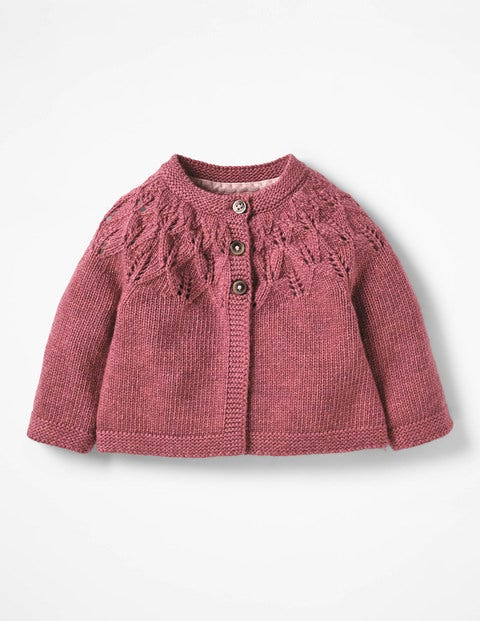 Cosy Cardigan - Autumn Rose Pink
