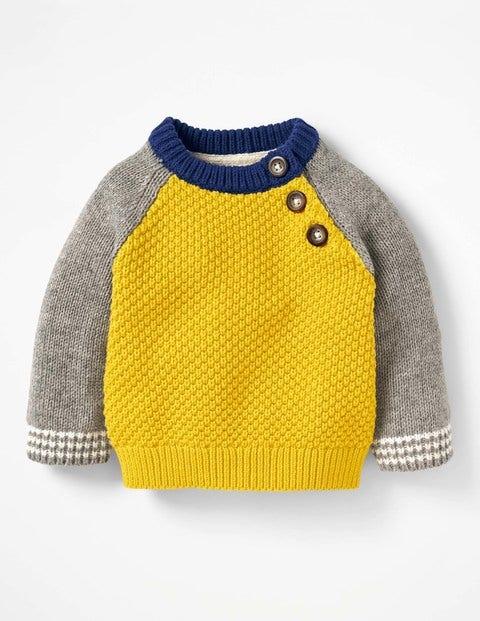Hotchpotch Knitted Jumper - Sunshine Yellow
