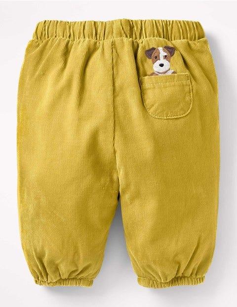 Boden Cordhose mit Taschentierchen Yellow Baby Boden blau,gelb  