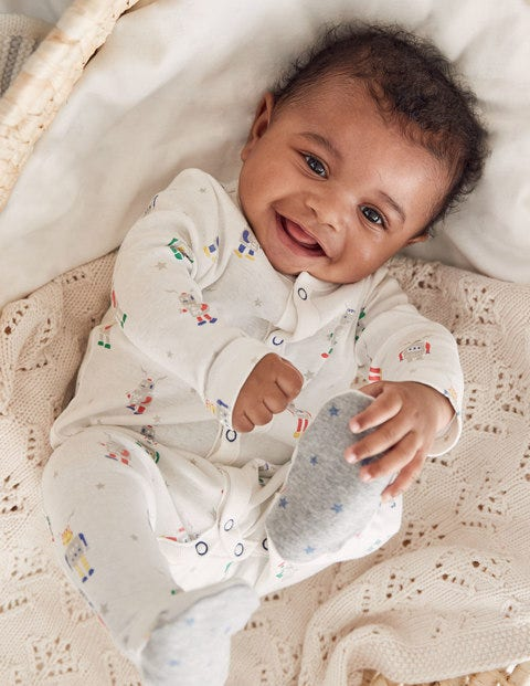 Fun Printed Sleepsuit
