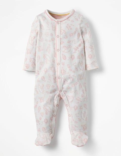 Baby Hübsch bedruckter Schlafanzug Pink  Boden, Pink pink |