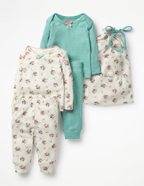 Cosy Pointelle Pack - Multi Vintage Spring