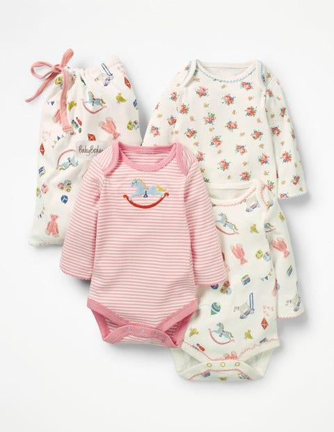 3 Pack Nursery Bodies - Multi Nursery