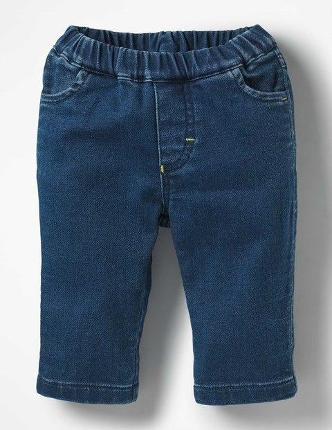 Jersey Denim Jeans - Denim Blue