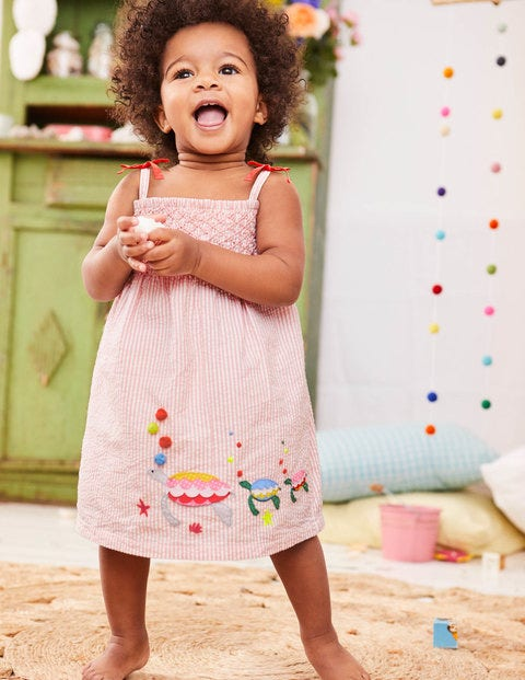 Strappy Smock Dress Y0301 Day Dresses at Boden 78df645f4