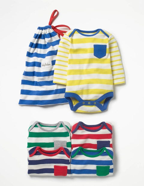 5 Pack Stripy Bodies